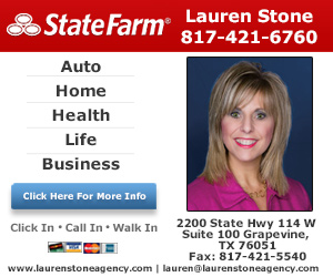 Lauren Stone - State Farm Insurance Agent Website Image
