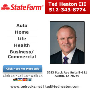 Ted Heaton III - State Farm Insurance Agent Website Image