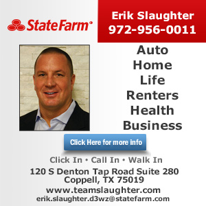 Erik Slaughter - State Farm Insurance Agent Website Image